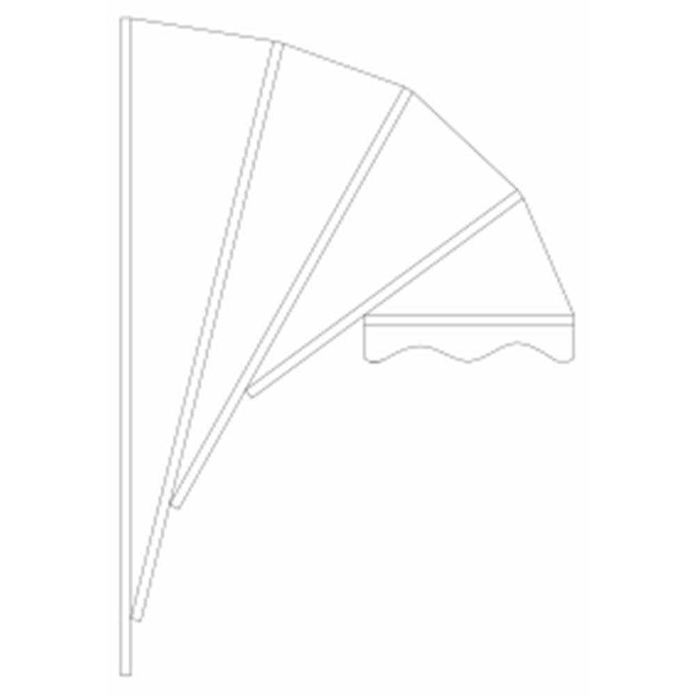 Zon Zonwering Oldenzaal - markiezen - technische tekening