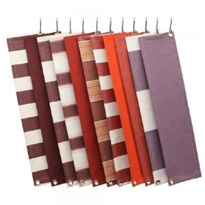 Zon Zonwering Oldenzaal - kleuren en soorten doek - rood en paars tinten